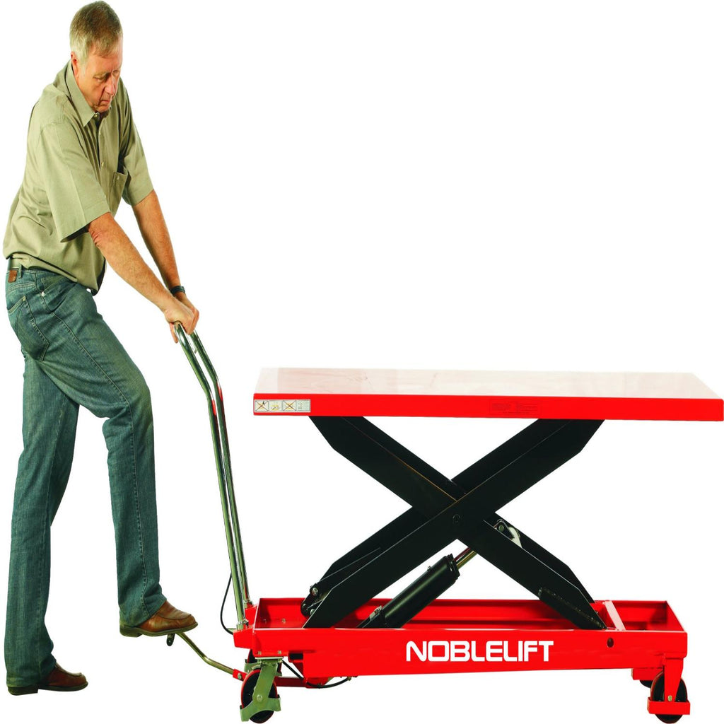 CUSTOM - Manual Large Scissor Lift Table