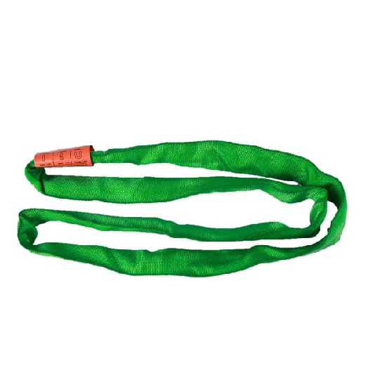 5,300lb Green Double Jacket Round Sling