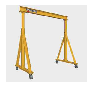 CUSTOM - 2 Ton TG Series Adjustable Height Gantry Crane