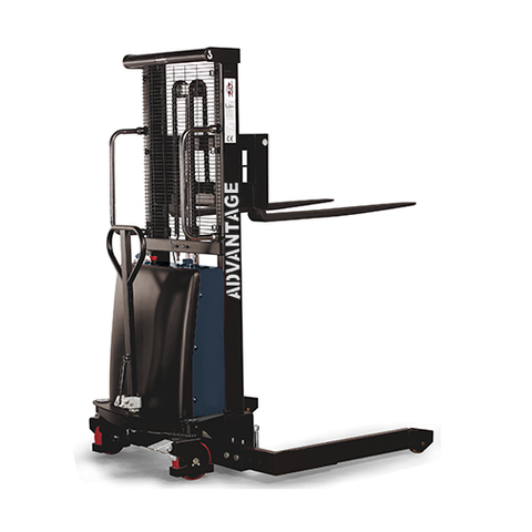 Advantage Semi-Electric - Straddle Stacker - 2200 Lb. Capacity