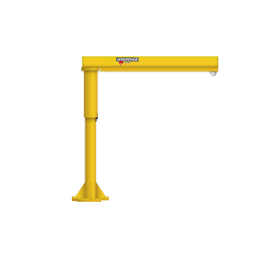1/8 Ton FL-WS Series Foundationless Floor Mounted  Work Station Jib Crane