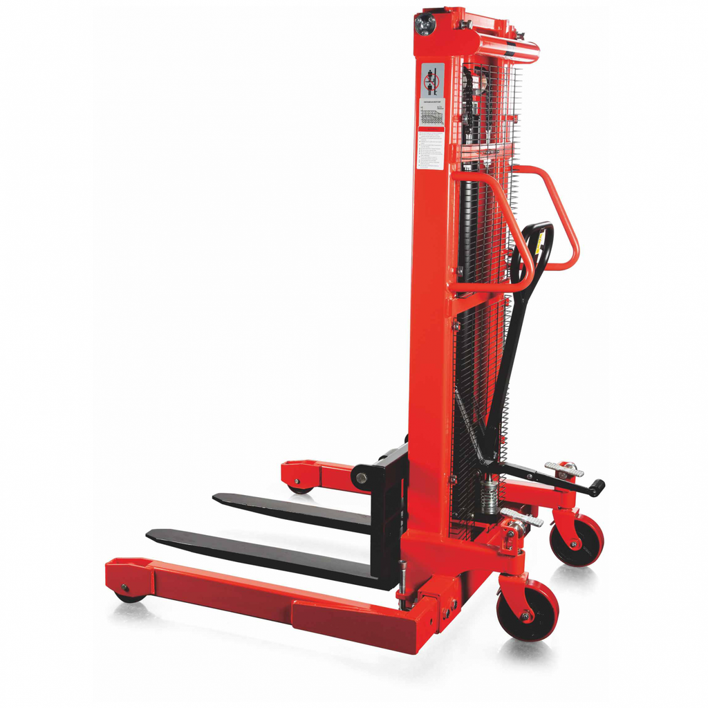 CUSTOM - Manual - Straddle Stacker - 2200 Lb. Capacity