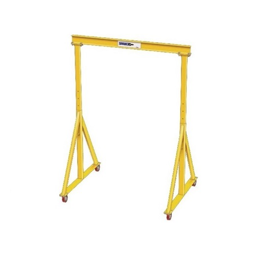 CUSTOM - 1 Ton Spanco E Series Adjustable Steel Gantry Crane
