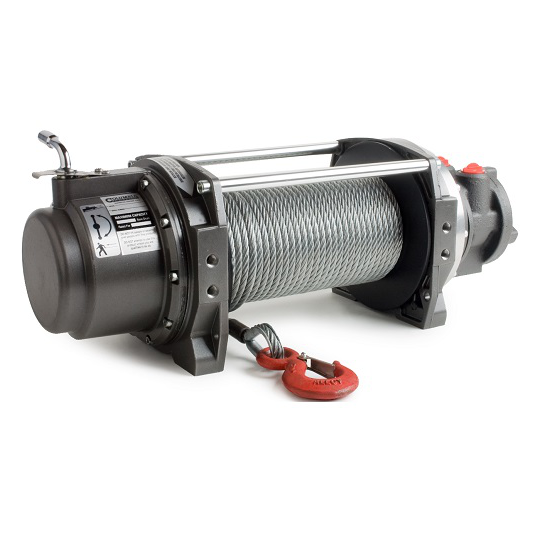 WF Series Pneumatic Winch Pulling Capacity 6,300 Lbs. - 21 FPM