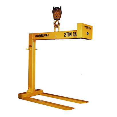 CUSTOM - 2 Ton Caldwell Fixed Fork Pallet Lifter
