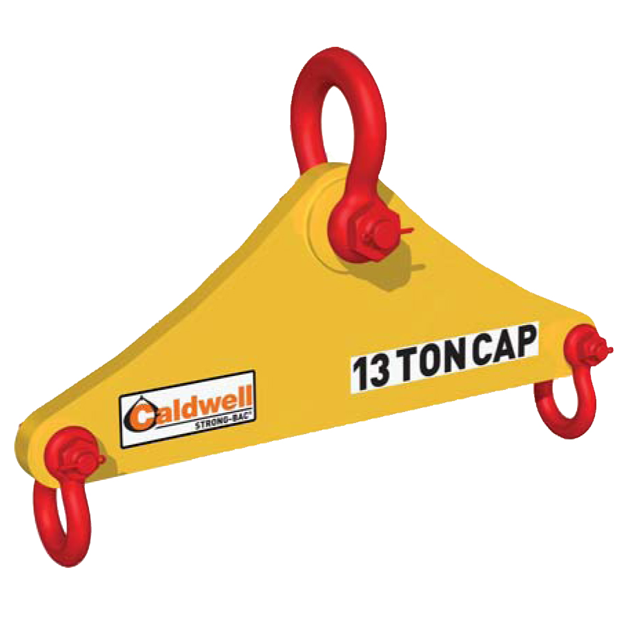 149 Ton Caldwell Shackle Style Triangle Lifting Beam