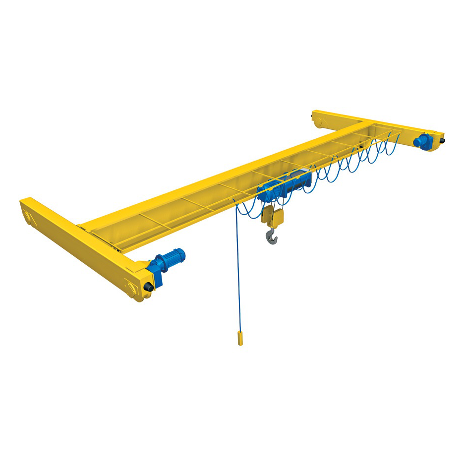 5 Ton Advantage Single Girder Top Running Hand Geared Bridge Crane
