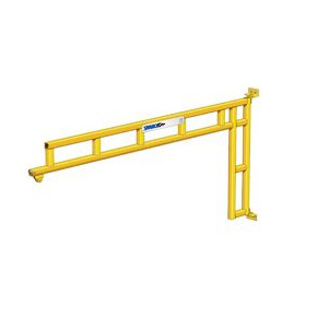 CUSTOM - 150 Lb.Spanco 501 Series Wall-Mounted Workstation Jib Crane with Trolley