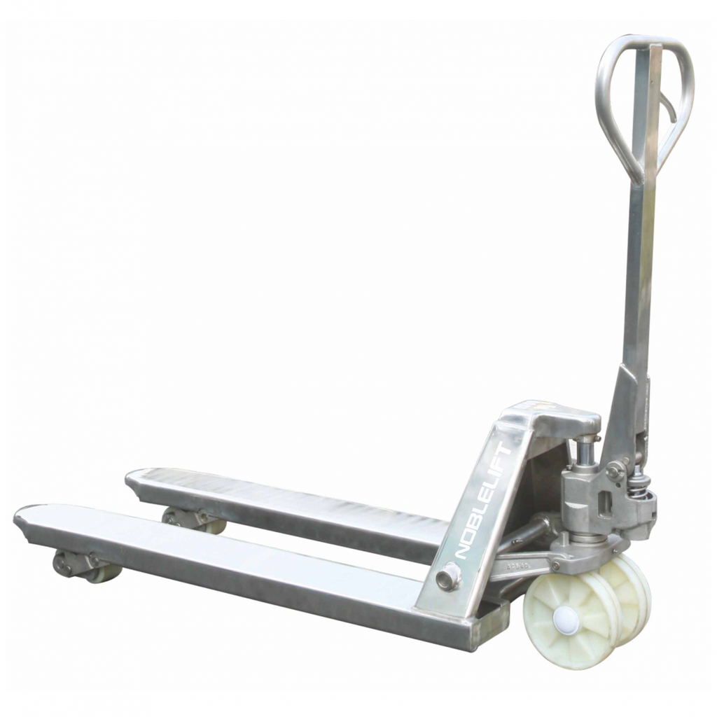 Stainless Steel Pallet Jack 4400 Lb Capacity