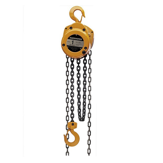 CUSTOM - 5 Ton Harrington Hand Chain Hoist - CF Series