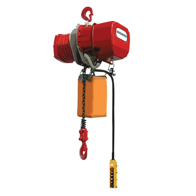 CUSTOM - Electric Chain Hoist - 1 Ton Advantage Series 15 FPM Single Speed 115v Single Phase