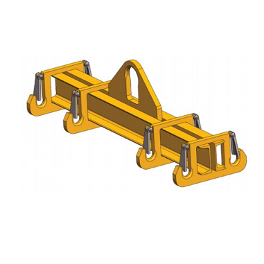 10 TON HBSLB Basket Sling Lift Beam