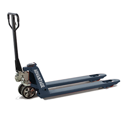Advantage Scale Pallet Jack 4400 Lb. Capacity - With Smart Weight Indicator