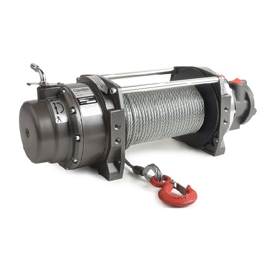 WG Series Pneumatic Winch Pulling Capacity 1,600 Lbs. - 96 FPM