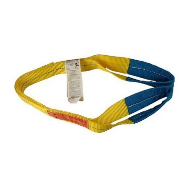 "AMH 3200lb 1"" Eye & Eye Flat Web Sling, 2 Ply Heavy Duty"