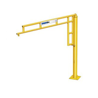 CUSTOM - 1/8 Ton Spanco 500 Series Freestanding WorkStation Jib Crane