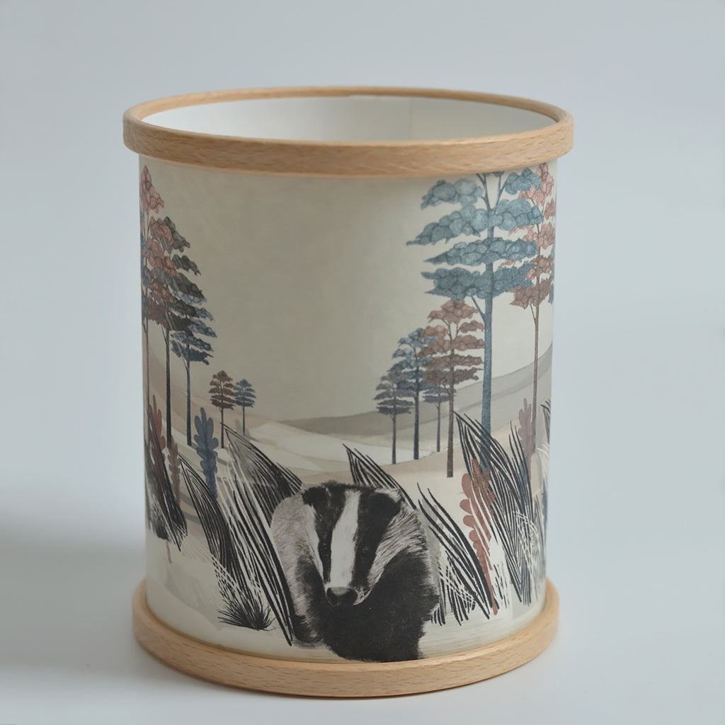 Badger Candle Cover
