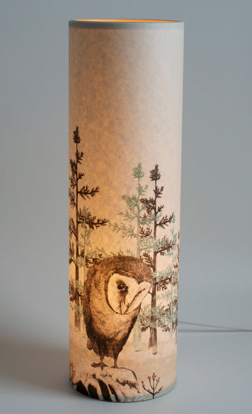 Barn Owl Lamp