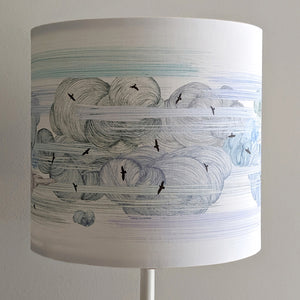 Clouds and Birds Lampshade