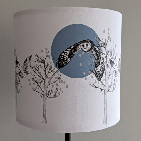 Flying Owl Lampshade