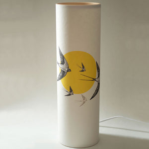 Yellow Swallow Lamp