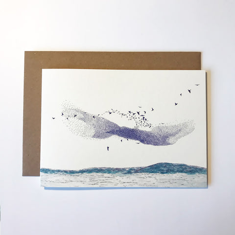 Murmuration Greetings Card