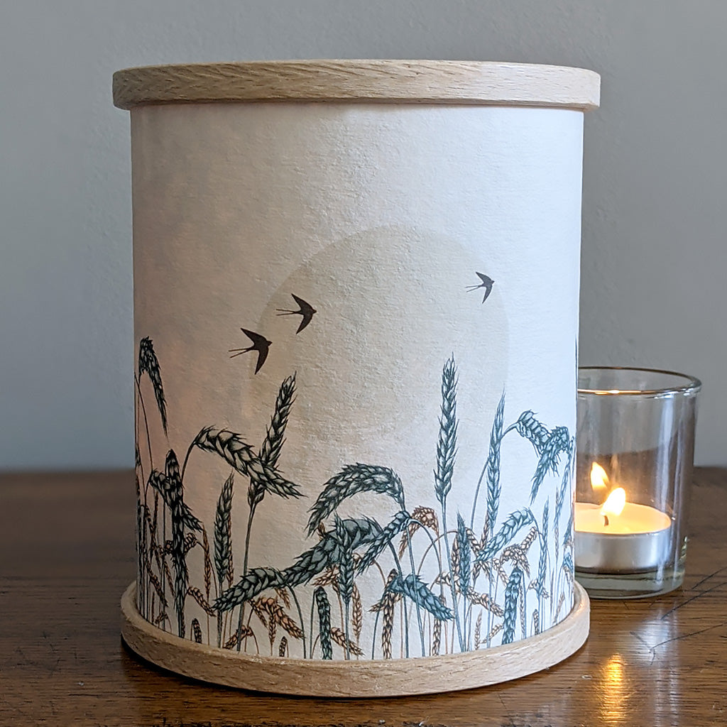 Wheatfield Candle Cover