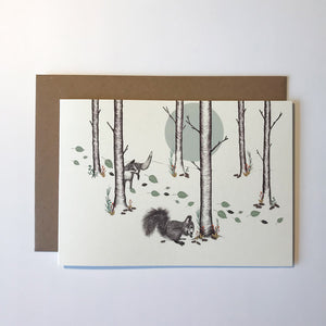 Woodland Greetings Card