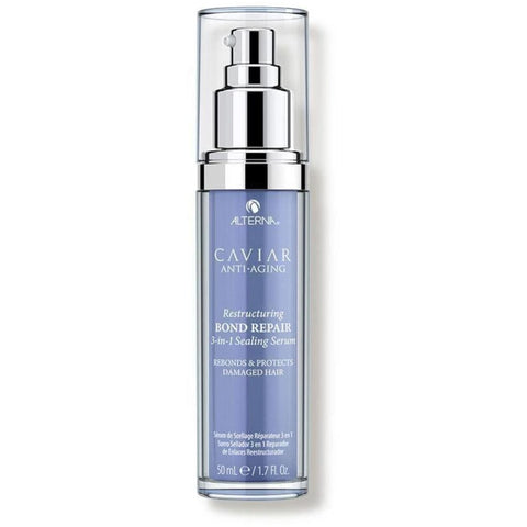 Alterna Caviar Restructuring Bond Repair 3-in-1 Sealing Serum 50ml Hudson Hair | Award Winning Hair Salon Brisbane