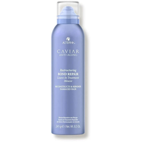 Alterna Caviar Restructuring Bond Repair Leave-in Treatment Mousse 241g Hudson Hair | Award Winning Hair Salon Brisbane