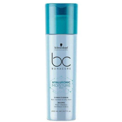 Schwarzkopf BC BONACURE Hyaluronic Moisture Kick Conditioner 200ml Hudson Hair | Award Winning Hair Salon Brisbane