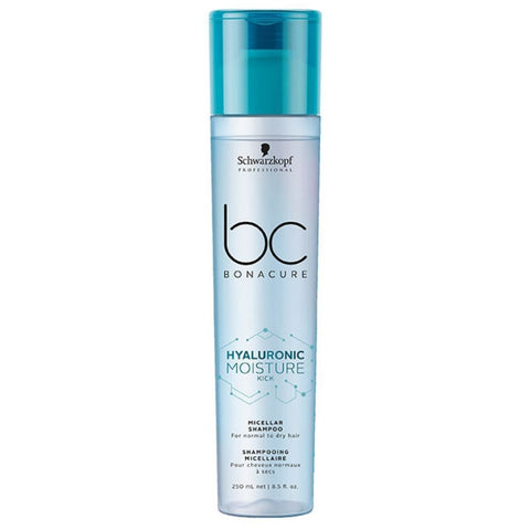 Schwarzkopf BC BONACURE Hyaluronic Moisture Kick Shampoo 250ml Hudson Hair | Award Winning Hair Salon Brisbane