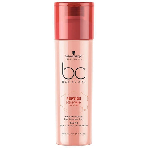 Schwarzkopf BC BONACURE Peptide Repair Rescue Conditioner 200ml Hudson Hair | Award Winning Hair Salon Brisbane