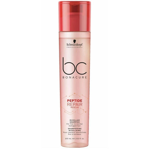 Schwarzkopf BC BONACURE Peptide Repair Rescue Shampoo 250ml Hudson Hair | Award Winning Hair Salon Brisbane