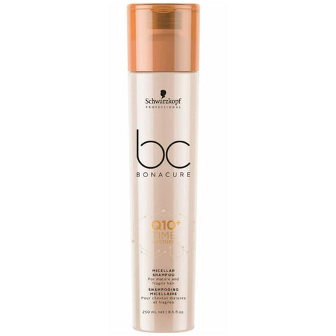 Schwarzkopf BC BONACURE Q10 Time Restore Micellar Shampoo 250ml Hudson Hair | Award Winning Hair Salon Brisbane