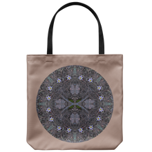Load image into Gallery viewer, Pasque Flower Mandala-Tote Bag