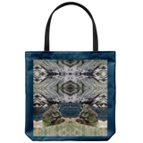 Stoney Creatures Meditating at a Vortex-Tote Bag