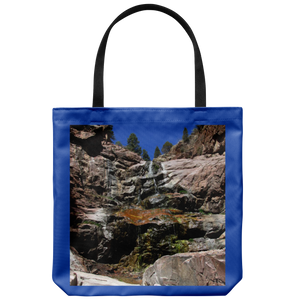 Colorful Williams Canyon Waterfall-Tote Bag