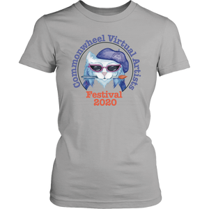 Virtual Art Fest 2020 Kitty Ladies T