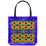 Sunflowers and Morning Glory-Tote Bag