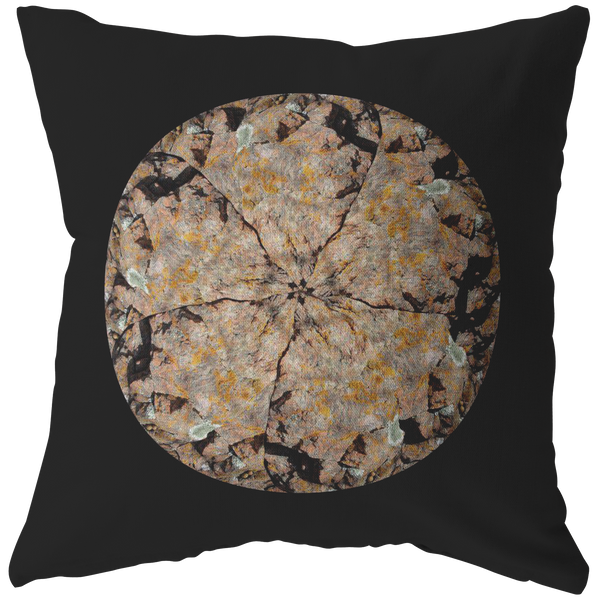 Kaleidoscope Veiw of a Colorado Stone Pillow