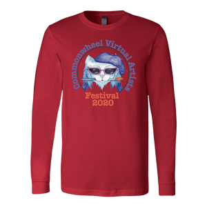 Virtual Art Fest 2020 Kitty Long Sleeve