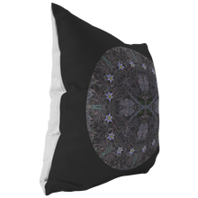 Load image into Gallery viewer, Harbinger of Spring Pasque Flower Mandala Pillow