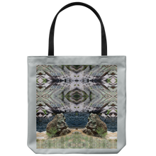 Load image into Gallery viewer, Stoney Creatures Meditating at a Vortex-Tote Bag