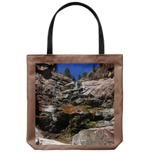 Load image into Gallery viewer, Colorful Williams Canyon Waterfall-Tote Bag