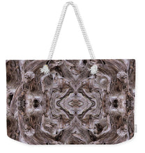 Load image into Gallery viewer, Sheep's Head Vortex Kaleidoscope - Weekender Tote Bag