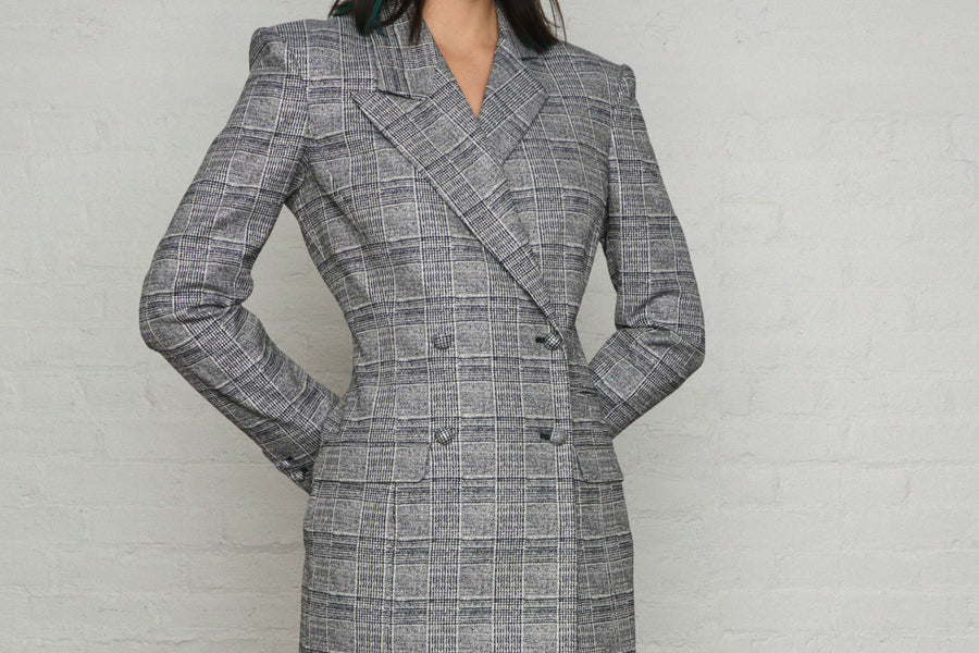 Sparkly Lady Blazer Dress