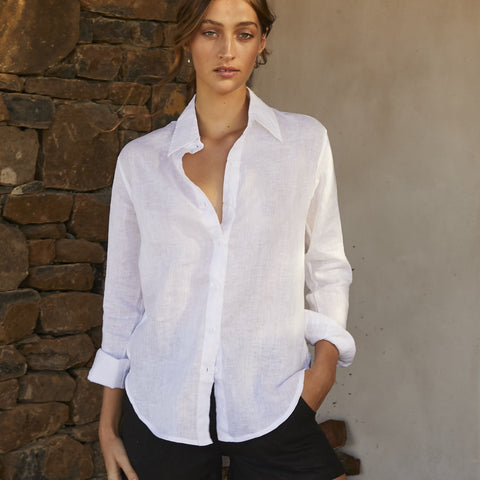 How to Care for Linen Before Anyone Else Timeless Shirt