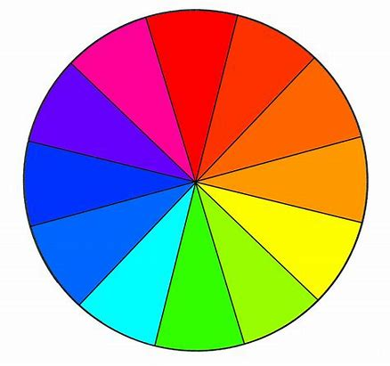 Colour Wheel to match your fashion and jewellery