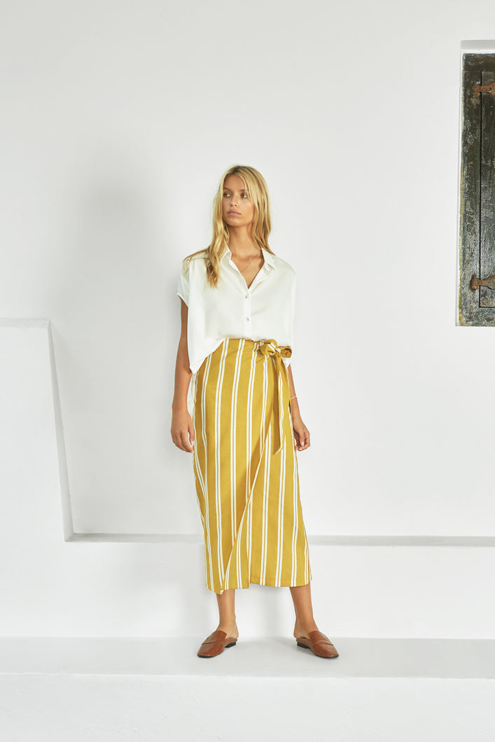 The Annieak Wrap Skirt by Sancia Online at Jessie sue with FREE EXPRESS shipping in Australia, no minimum spend, AFTERPAY, FREE RETURNS within Australia, 100% SAFE & SECURE.